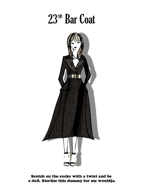 Dior's Bar Coat