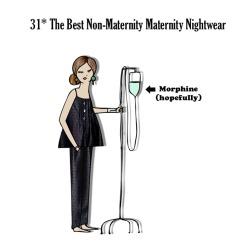Bovary's Sunday Style - Non-Maternity Maternity Nightwear